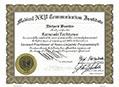 米国NLP協会認定プラクティショナー