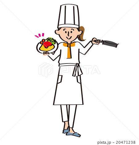 女性調理師